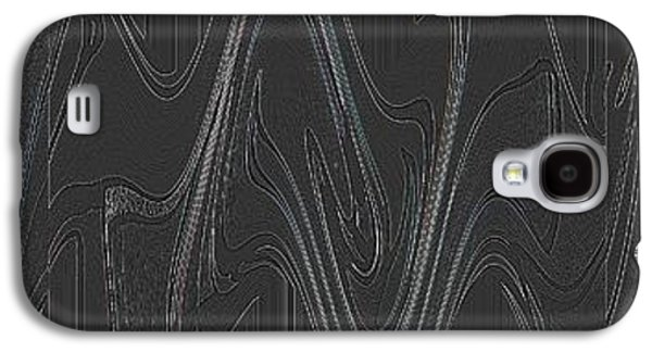 Abstract Movement Galaxy S4 Cases - Three Swirls Rippled and Altered Galaxy S4 Case by Helena Tiainen