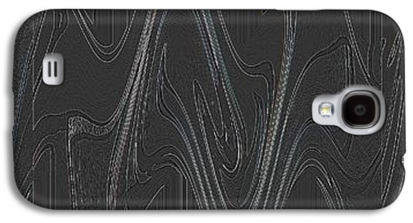 Three Swirls Rippled And Altered Galaxy S4 Case by Helena Tiainen