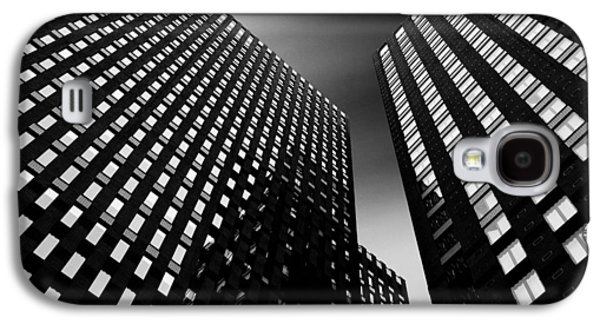 Abstract Forms Photographs Galaxy S4 Cases - Three Towers Galaxy S4 Case by Dave Bowman