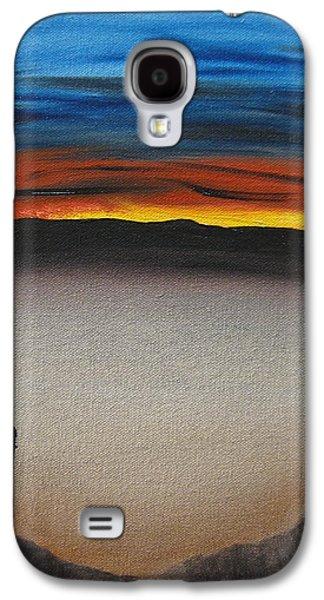 Bob Ross Paintings Galaxy S4 Cases - Thriving In The Desert Galaxy S4 Case by Sayali Mahajan