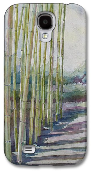 Bamboo Galaxy S4 Cases - Through the Bamboo Grove Galaxy S4 Case by Jenny Armitage