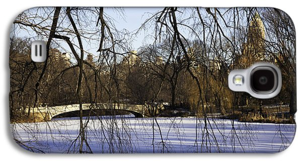 Snowy Day Galaxy S4 Cases - Through The Branches 1 - Central Park - NYC Galaxy S4 Case by Madeline Ellis