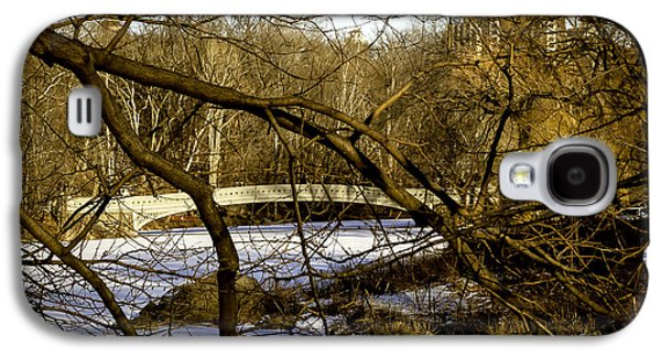 Snowy Day Galaxy S4 Cases - Through The Branches 2 - Central Park - NYC Galaxy S4 Case by Madeline Ellis