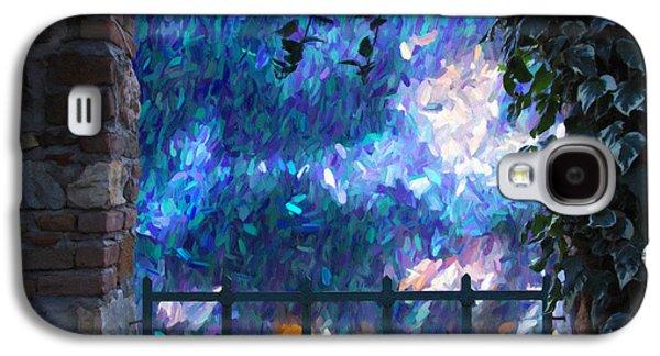Abstract Digital Mixed Media Galaxy S4 Cases - Through The Gate Galaxy S4 Case by Georgiana Romanovna