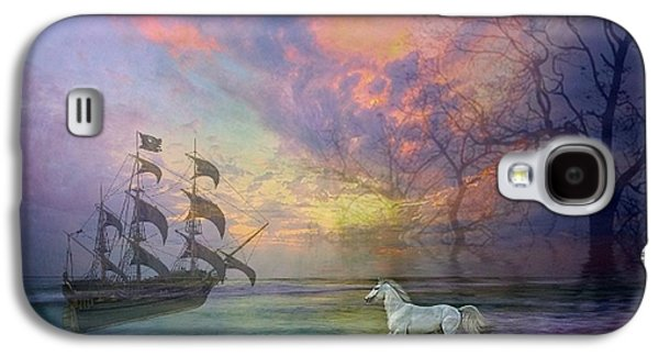 Photo Manipulation Paintings Galaxy S4 Cases - Through The Lense of Past Galaxy S4 Case by Jessie Art