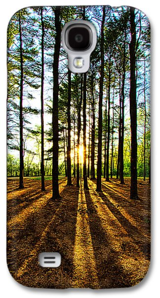 Pines Galaxy S4 Cases - Through the Pines Galaxy S4 Case by Phil Koch