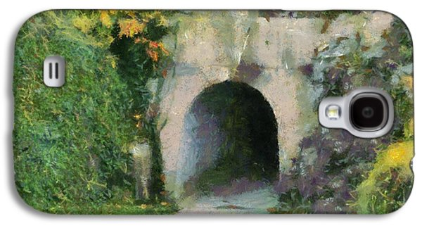 The Hills Mixed Media Galaxy S4 Cases - Through The Tunnel Galaxy S4 Case by Dan Sproul