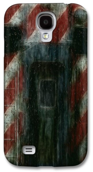 Painter Photo Galaxy S4 Cases - Through The Window On A Rainy Day In May Galaxy S4 Case by Jack Zulli