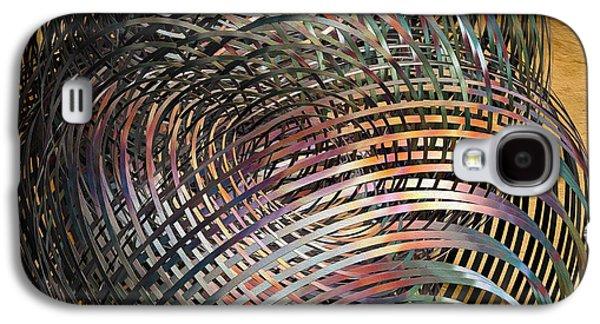 Symetry Galaxy S4 Cases - Thru The MaZe Galaxy S4 Case by Deborah Benoit