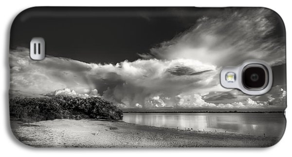 Waterscape Galaxy S4 Cases - Thunder Head Comming BW Galaxy S4 Case by Marvin Spates