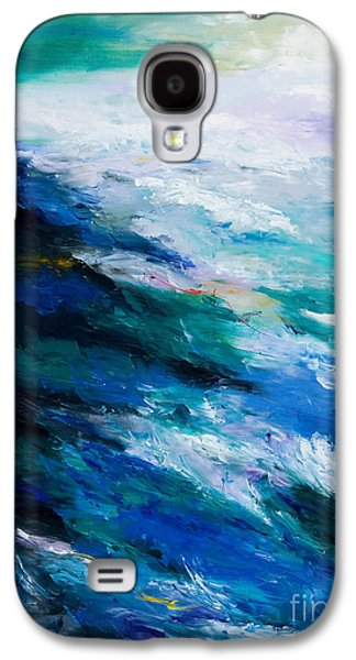 Thunder Tide Galaxy S4 Case by Larry Martin