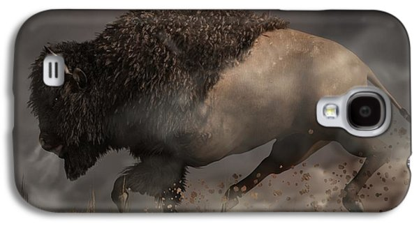 Bison Digital Galaxy S4 Cases - Thunderbeast Galaxy S4 Case by Daniel Eskridge