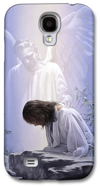 Police Paintings Galaxy S4 Cases - Thy Will be Done Galaxy S4 Case by Danny  Hahlbohm