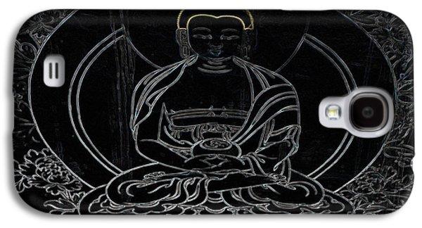 Contemplative Photographs Galaxy S4 Cases - Tibet Buddha Black Galaxy S4 Case by Kate McKenna