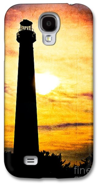 Original Art Photographs Galaxy S4 Cases - Tie Dye Sky - Lighthouse Galaxy S4 Case by Colleen Kammerer