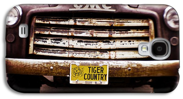 Louisiana Photographs Galaxy S4 Cases - Tiger Country - Purple and Old Galaxy S4 Case by Scott Pellegrin
