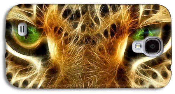 Animation Galaxy S4 Cases - Tiger Portrait  Galaxy S4 Case by Mark Ashkenazi