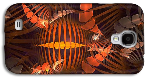 Surrealism Galaxy S4 Cases - Tiger Shrimp Galaxy S4 Case by Anastasiya Malakhova