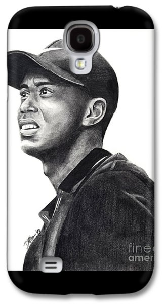 Tiger Woods Driven Galaxy S4 Case by Devin Millington