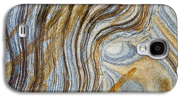 Geology Photographs Galaxy S4 Cases - Tigers Eye Galaxy S4 Case by Tim Gainey