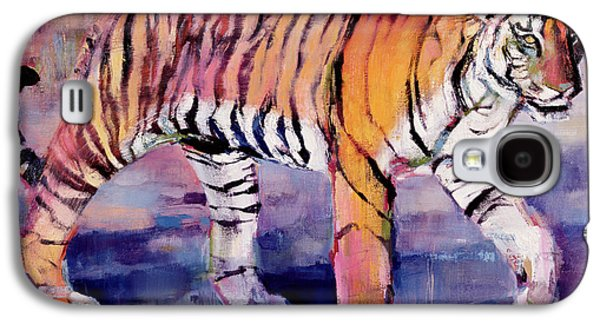 Tiger Galaxy S4 Cases - Tigress Galaxy S4 Case by Mark Adlington