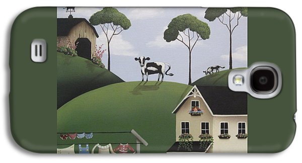 Till The Cows Come Home Galaxy S4 Case by Catherine Holman