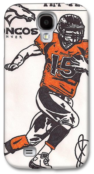 Tim Tebow Galaxy S4 Cases - Tim Tebow Galaxy S4 Case by Jeremiah Colley