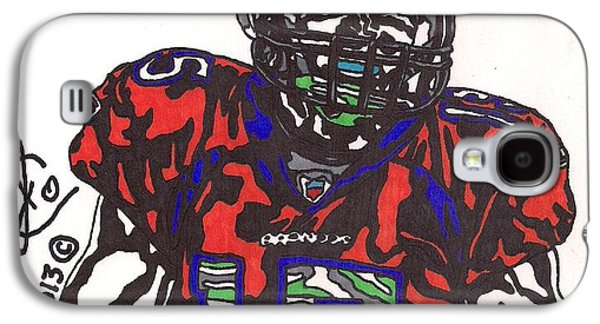 Tim Tebow Galaxy S4 Cases - Tim Tebow 4 Galaxy S4 Case by Jeremiah Colley
