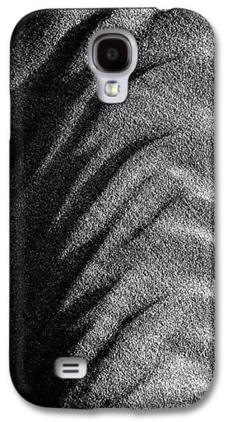 Sand Pattern Galaxy S4 Cases - Time and Tide Galaxy S4 Case by Tim Gainey