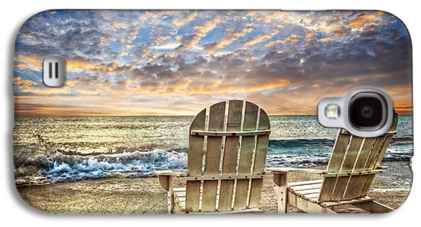 Sanddunes Galaxy S4 Cases - Time for Happy Hour Galaxy S4 Case by Debra and Dave Vanderlaan