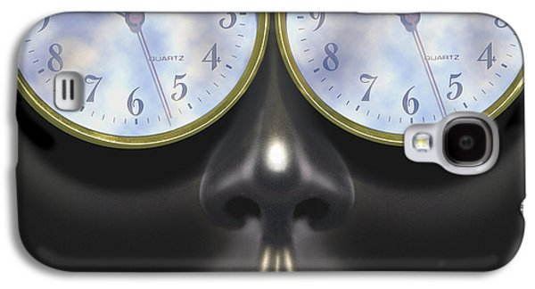 """square Art"" Digital Art Galaxy S4 Cases - Time In Your Eyes - SQ Galaxy S4 Case by Mike McGlothlen"