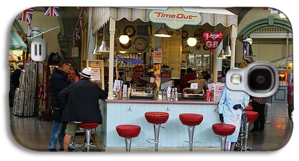 Snack Bar Galaxy S4 Cases - Time Out Snack Bar in Bath England Galaxy S4 Case by Jack Schultz