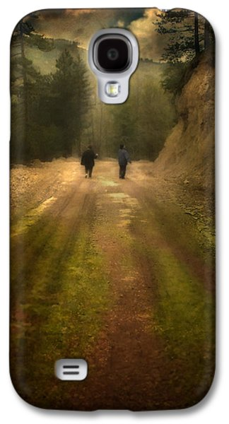 Surreal Landscape Galaxy S4 Cases - Time Stand Still Galaxy S4 Case by Taylan Soyturk