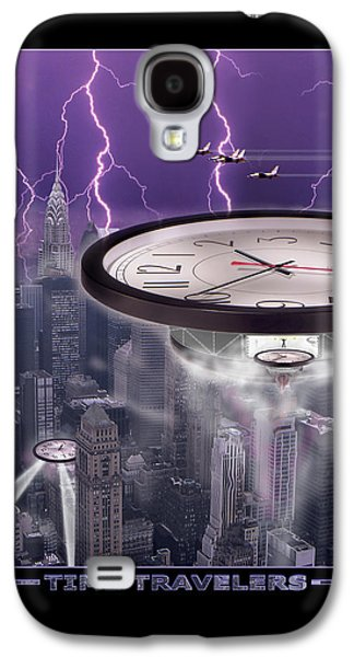 Lightning Digital Art Galaxy S4 Cases - TiME TRAVELERS 2 Galaxy S4 Case by Mike McGlothlen