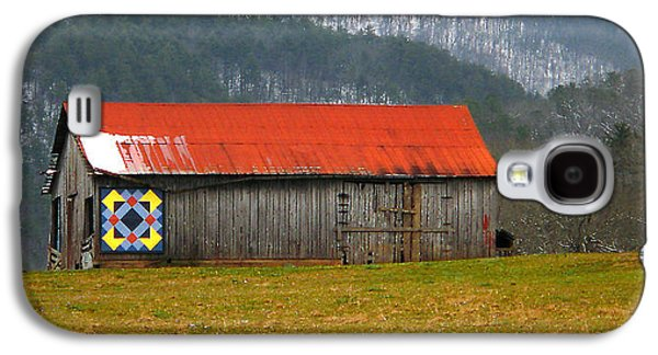 Tennessee Barn Galaxy S4 Cases - Timeless Galaxy S4 Case by Michael Eingle