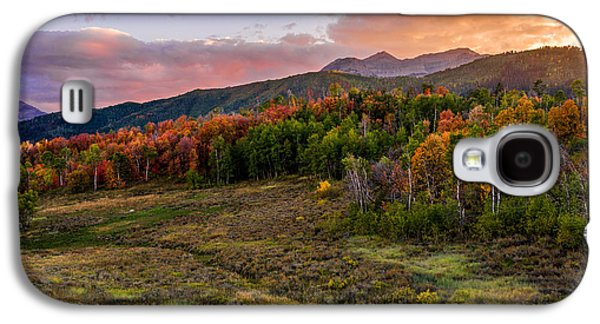Timp Fall Glow Galaxy S4 Case by Chad Dutson