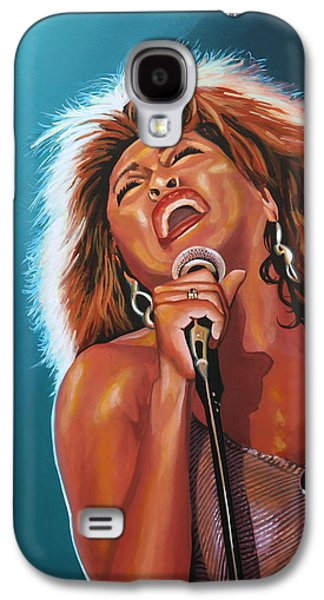 Tina Turner 3 Galaxy S4 Case by Paul Meijering