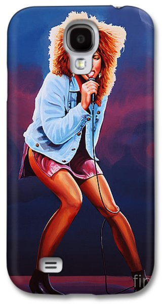 King Of Pop Galaxy S4 Cases - Tina Turner Galaxy S4 Case by Paul Meijering