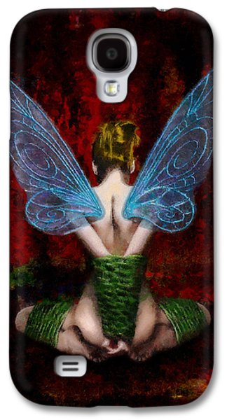 Self Discovery Paintings Galaxy S4 Cases - Tinks Fetish Galaxy S4 Case by Christopher Lane