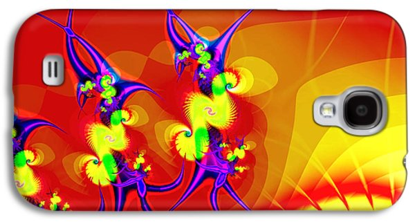 Art166 Galaxy S4 Cases - Tiny Dancers Galaxy S4 Case by Wendy J St Christopher
