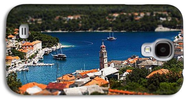 Miniature Photographs Galaxy S4 Cases - Tiny Inlet Galaxy S4 Case by Andrew Paranavitana