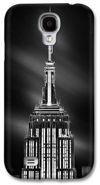 Empire State Galaxy S4 Cases - Tip Of The World Galaxy S4 Case by Az Jackson
