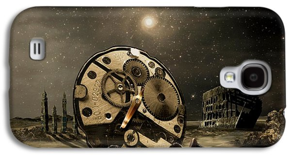 Gear Mixed Media Galaxy S4 Cases - Tired old time Galaxy S4 Case by Franziskus Pfleghart