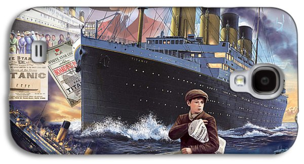 Sadness Galaxy S4 Cases - Titanic - Landscape Galaxy S4 Case by MGL Meiklejohn Graphics Licensing