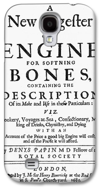 Title Page Cookbook, 1681 Galaxy S4 Case by Granger