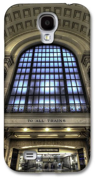 Landmarks Photographs Galaxy S4 Cases - To All Trains Galaxy S4 Case by Greg Thiemeyer