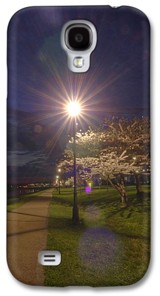 Cherry Blossoms Pyrography Galaxy S4 Cases - To Light the Way Galaxy S4 Case by Shirley Tinkham