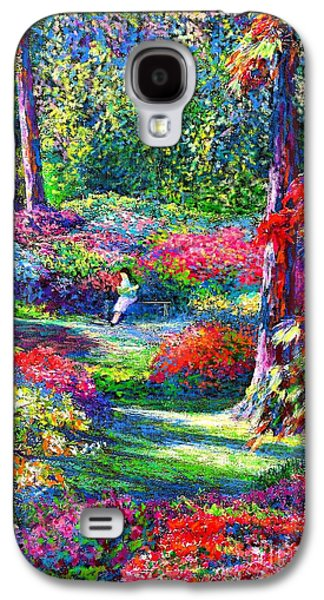 To Read And Dream Galaxy S4 Case by Jane Small