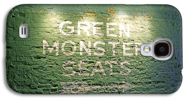 Light Photographs Galaxy S4 Cases - To the Green Monster Seats Galaxy S4 Case by Barbara McDevitt