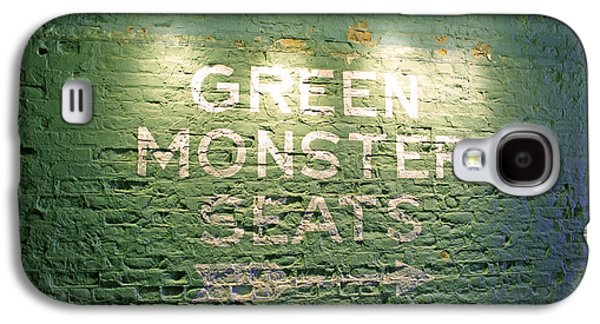 Baseball Photographs Galaxy S4 Cases - To the Green Monster Seats Galaxy S4 Case by Barbara McDevitt